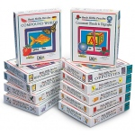 Didax Basic Skills Reading Puzzles: Grades K-6, Complete Set of 11