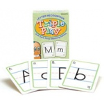 Didax Language Triple Play Game: Letter Recognition, Grades PreK-2