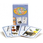 Didax Language Triple Play Game: Letter Sounds, Grades PreK-2