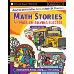 Didax Math Stories for Problem Solving Success: 2nd Edition, Grades 6-12