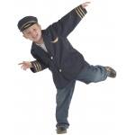 Brand New World Community Helper Costumes: Airline Pilot, Ages 3 to 6