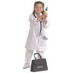 Brand New World Community Helper Costumes: Doctor/Dentist/Vet, Ages 3 to 6