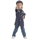 Brand New World Community Helper Costumes: Police Officer, Ages 3 to 6