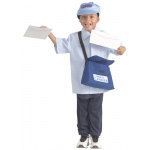 Brand New World Community Helper Costumes: Mail Carrier, Ages 3 to 6