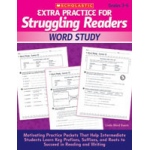 Didax Extra Practice for Struggling Readers: Word Study, Grades 3-6