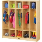 Jonti-Craft Coat Locker: 5 Sections