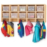 Jonti-Craft Coat Locker with Trays