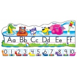 Pool Party Pals Alphabet Line Std Manuscript Bb Set