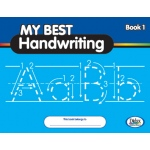 Didax My Best Handwriting Book 1: From Prewriting to Fluent Cursive, Grades K-3, Set of 10