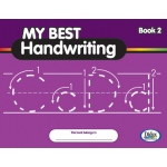 Didax My Best Handwriting Book 2: From Prewriting to Fluent Cursive, Grades K-3, Set of 10