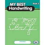 Didax My Best Handwriting Book 3-From Prewriting to Fluent Cursive, Grades K-3, Set of 10