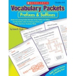 Didax Vocabulary Packets: Prefixes and Suffixes, Grades 4-8