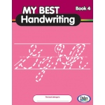 Didax My Best Handwriting Book 4: From Prewriting to Fluent Cursive, Grades K-3, Set of 10