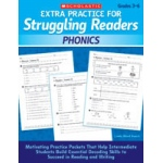 Didax Extra Practice for Struggling Readers: Phonics, Grades 3-6