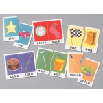Didax Rhyming Words Puzzles: Grades 1-3