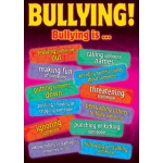 Didax Preventing Bullying and Cyber-Bullying Posters: Grades 5-8