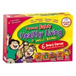 Didax Personal Safety & Healthy Living Board Games: Grades 4-6