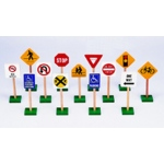 Traffic Signs 7in 13/pk
