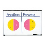 Didax Double-Sided Magnetic Fraction Circles: Grades 1+