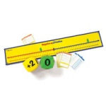 Didax Positive & Negative Number Line Activity Set: Grades 4-6