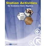 Didax Station Activities for Common Core: Algebra I, Grades 8-12