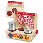 Wooden Cook Top Ages 3 Up