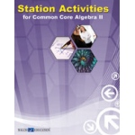 Didax Station Activities for Common Core: Algebra II, Grades 9-12