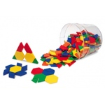 Pattern Blocks Plastic .5cm 250/pk