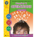 Classroom Complete Regular Edition Book: Number & Operations - Task Sheets, Grades 6, 7, 8