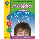 Classroom Complete Regular Edition Book: Algebra - Task Sheets, Grades 6, 7, 8
