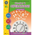 Classroom Complete Regular Edition Book: Number & Operations - Drill Sheets, Grades PK, K, 1, 2