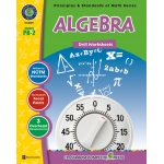 Classroom Complete Regular Edition Book: Algebra - Drill Sheets, Grades PK, K, 1, 2