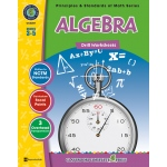 Classroom Complete Regular Edition Book: Algebra - Drill Sheets, Grades 3, 4, 5