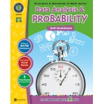 Classroom Complete Regular Edition Book: Data Analysis & Probability - Drill Sheets, Grades 3, 4, 5