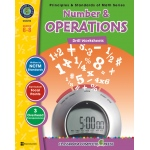 Classroom Complete Regular Edition Book: Number & Operations - Drill Sheets, Grades 6, 7, 8