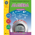 Classroom Complete Regular Edition Book: Algebra - Drill Sheets, Grades 6, 7, 8
