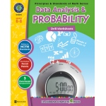 Classroom Complete Regular Edition Book: Data Analysis & Probability - Drill Sheets, Grades 6, 7, 8