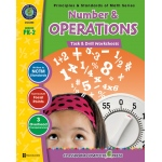Classroom Complete Regular Edition Book: Number & Operations - Task & Drill Sheets, Grades PK, K, 1, 2