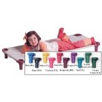 "Mahar MultiColor Replacement Cover for 40"" Stacking Cot: Toddler Size"