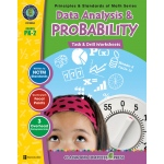 Classroom Complete Regular Education Book: Data Analysis & Probability - Task & Drill Sheets, Grades - PK, K, 1, 2