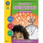Classroom Complete Regular Education Book: Number & Operations - Task & Drill Sheets, Grades - 3, 4, 5