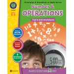 Classroom Complete Regular Education Book: Number & Operations - Task & Drill Sheets, Grades - 6, 7, 8
