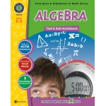 Classroom Complete Regular Education Book: Algebra - Task & Drill Sheets, Grades - 6, 7, 8