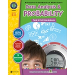 Classroom Complete Regular Education Book: Data Analysis & Probability - Task & Drill Sheets, Grades - 6, 7, 8