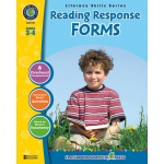 Classroom Complete Regular Education Book: Reading Response Forms, Grades - 3, 4