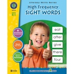 Classroom Complete Regular Education Book: High Frequency Sight Words, Grades - K, 1