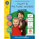Classroom Complete Regular Education Book: Sight & Picture Words - Big Book, Grades - K, 1