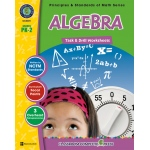 Classroom Complete Regular Education Book: Algebra - Task & Drill Sheet, Grades - PK, K, 1, 2