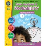 Classroom Complete Regular Education Book: Data Analysis & Probability - Task & Drill Sheets, Grades - 3, 4, 5