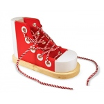 Wood Lacing Sneaker